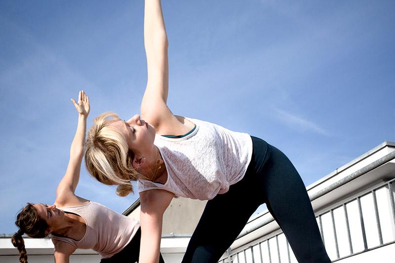 Mit Shine! Yoga Köln frisch und aktiv in den Frühling